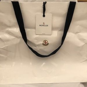 Genuine Moncler Shopping Bag Brand New Medium